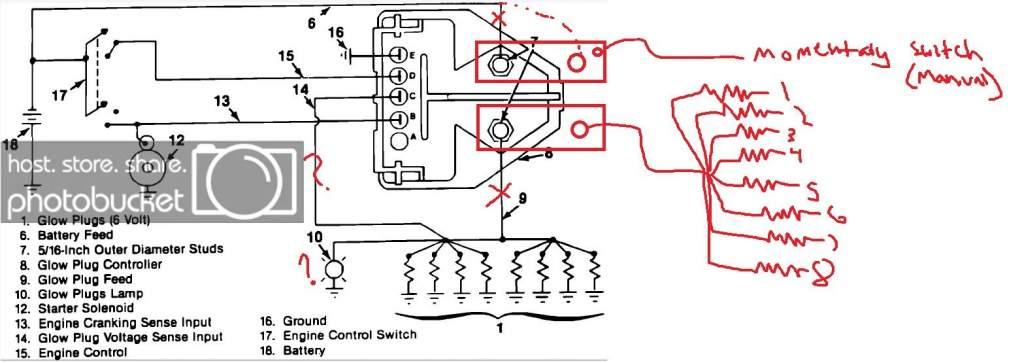 [ANLQ_8698]  Manual glow plug override | Diesel Place | Glow Plug Controller Wiring Diagram |  | Diesel Place