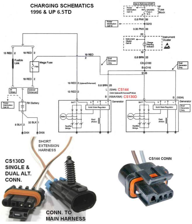 1996 C3500 6 5l Wiring Diagrams - Page 2