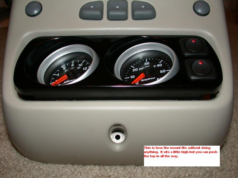 Trippin Gauge Mount Install Into Sunroof Equipped Trucks