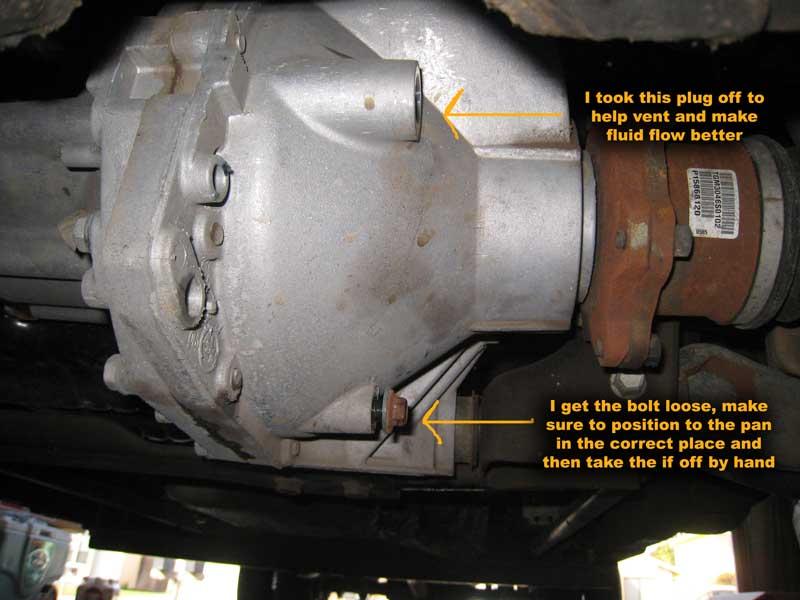 silverado 2500 differential fluid change