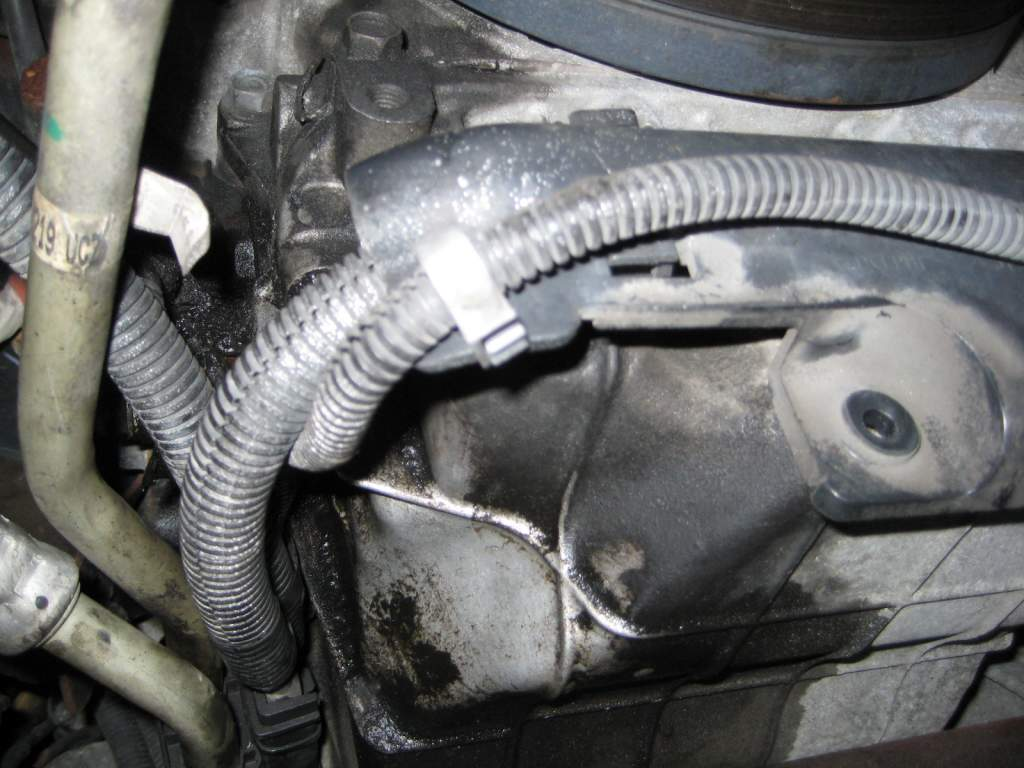 Small Oil leak front pass side near trans coolant lines-img_3146.jpg