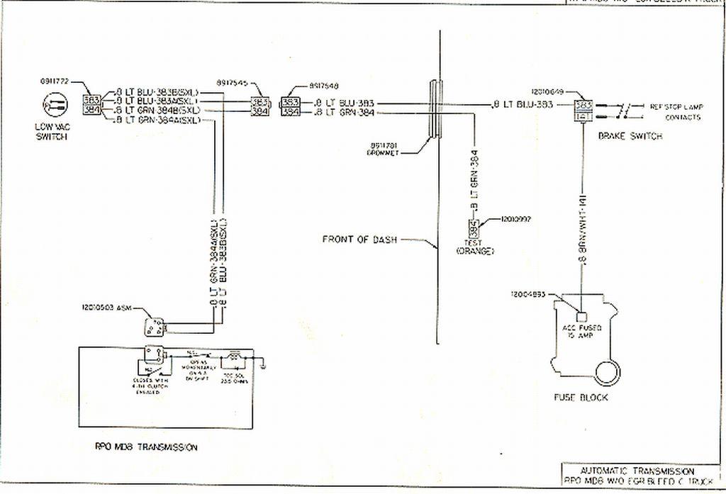 Tranny Lock-up Wiring 700r4