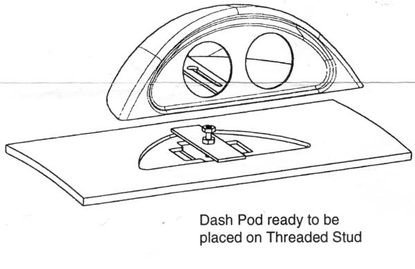 diy  autometer dash gage pod and sport comp ii gauges