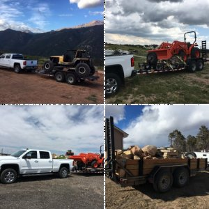 Load Trail equipment trailers, buggy hauler, 7K axles